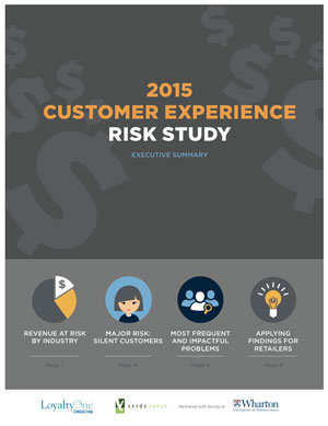 2015 Customer Experience Risk Study